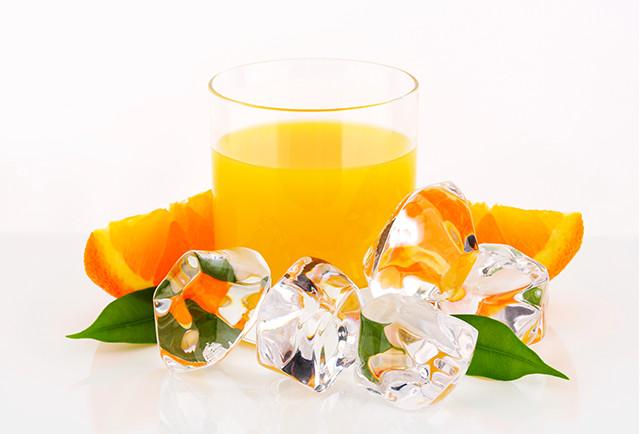 冷凍濃縮オレンジジュース