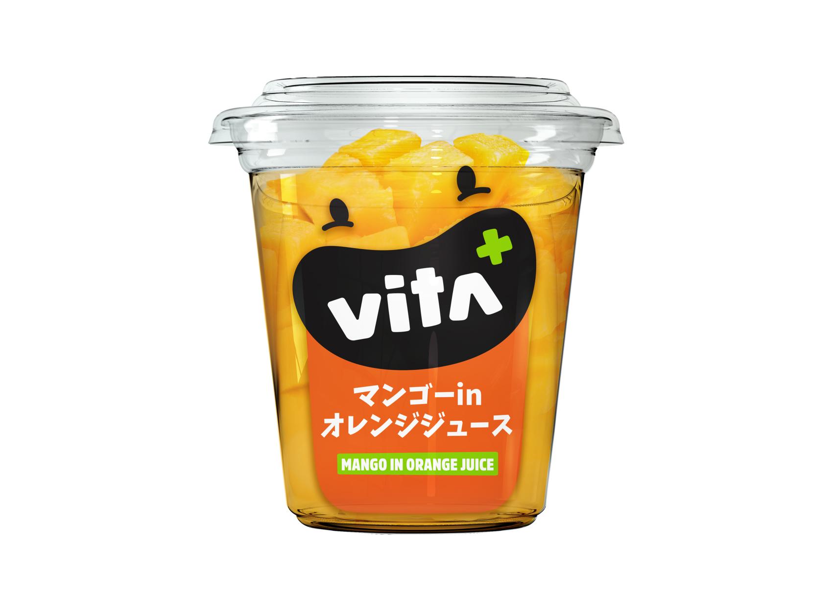 Vita+ マンゴー in オレンジジュース